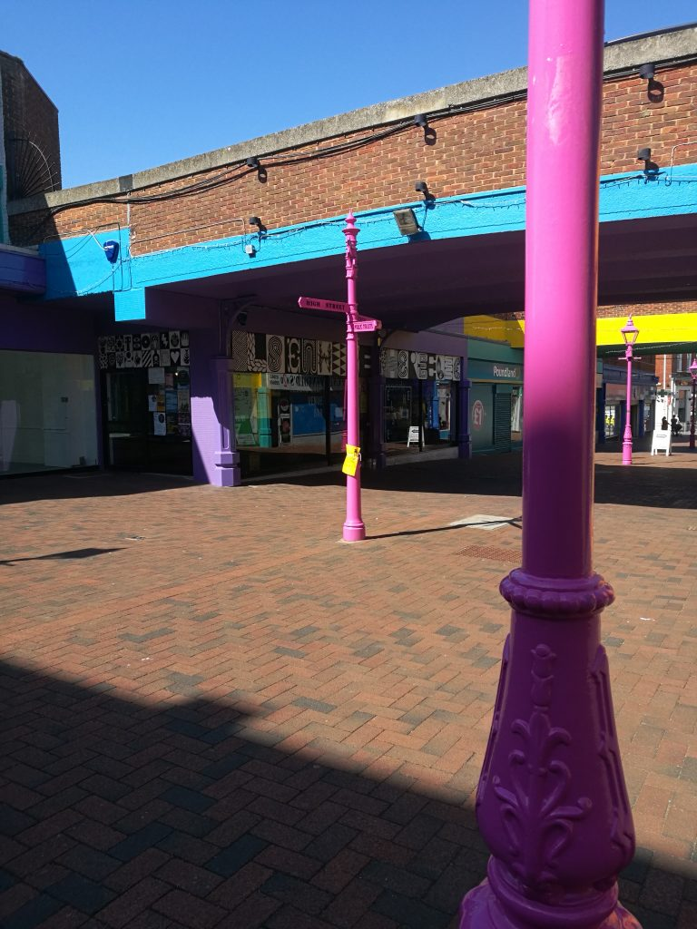 Margate shopping district